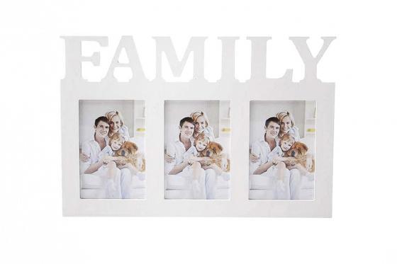 Bilderrahmen Family - für 3 Fotos