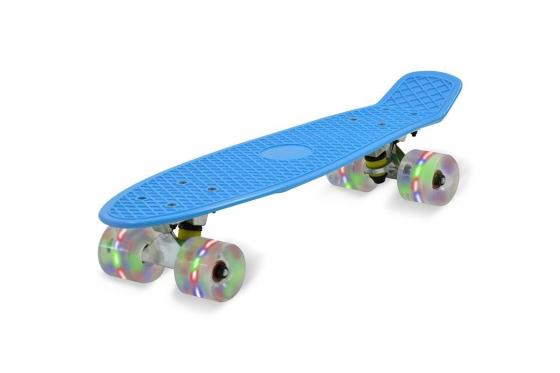 Skateboard LED  - bleu 1