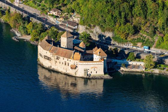 Les rives du lac Léman - en hélicoptère (4 pers.) 3 [article_picture_small]