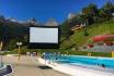 Übernachtung mit Pool-Kino für 2-Romantische Wellnessübernachtung in Ovronnaz mit Kinofeeling 2