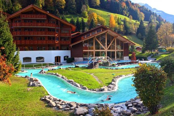 Séjour aux bains de Val-d'Illiez - 1 nuit pour 2 personnes avec accès illimité au centre thermal 4 [article_picture_small]