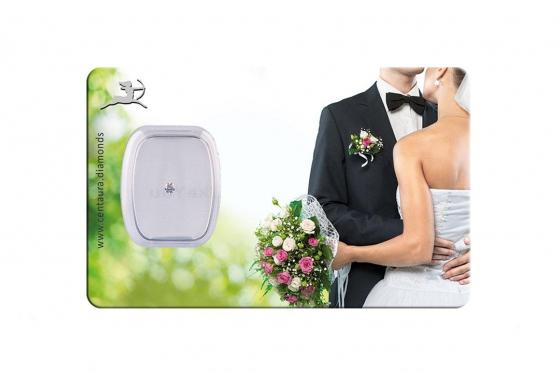 Diamant Geschenkkarte - Green wedding
