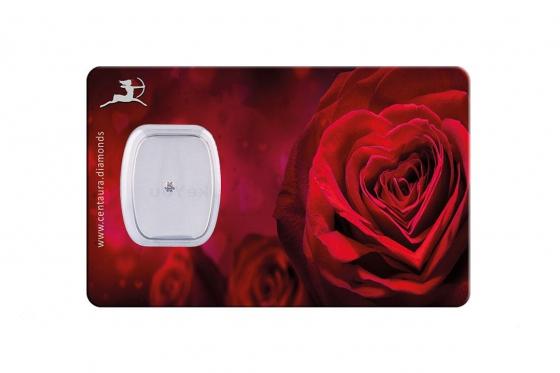 Carte cadeaux Diamant - style rouge coeur