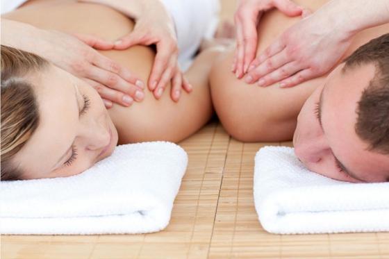 Massage en duo & bains thermaux - Pour 2 personnes, aux bains de Val-d'Illiez  [article_picture_small]