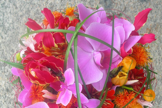 Bouquet de la mariée - & boutonnière du marié  [article_picture_small]