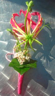 Bouquet de la mariée - & boutonnière du marié 1 [article_picture_small]