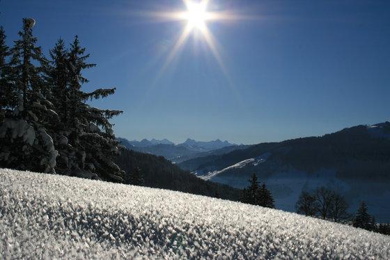 Abend- oder Vollmondschneeschuhtour - mit Fondueplausch und Bockerlabfahrt 2 Personen 1 [article_picture_small]
