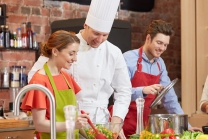 Un atelier culinaire - en couple