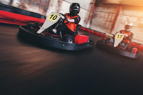 Rennkart und Kart fahren - Action Erlebnis auf der Kartbahn  [article_picture_small]