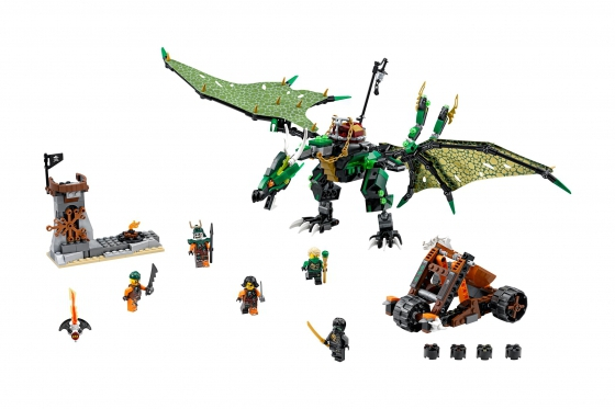 Le dragon émeraude de Lloyd - LEGO® NINJAGO 1