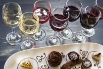 Schokolade und Wein  - für 1 Person, inkl. Degustation