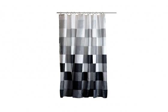 rideau de douche. Black Bedroom Furniture Sets. Home Design Ideas