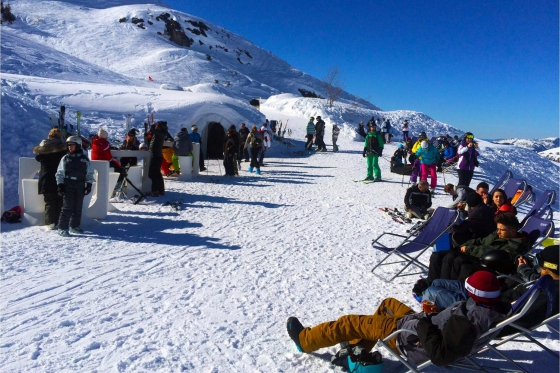 Romantische Iglu Übernachtung - inkl. Fondue, Schneeschuhwanderung, Champagner & Frühstück 9 [article_picture_small]