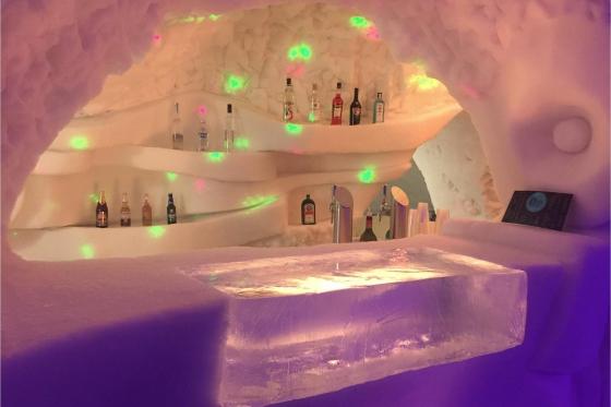 Romantische Iglu Übernachtung - inkl. Fondue, Schneeschuhwanderung, Champagner & Frühstück 13 [article_picture_small]