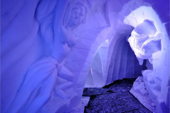 Iglu Übernachtung für 4 - inkl. Fondue, Schneeschuhwanderung & Aperitif 6 [article_picture_small]