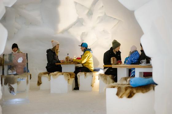 Fondue-Plausch - für 2 Personen im Schnee Iglu Restaurant Engstligenalp 1 [article_picture_small]