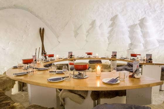 Fondue-Plausch - für 2 Personen im Schnee Iglu Restaurant Engstligenalp 5 [article_picture_small]