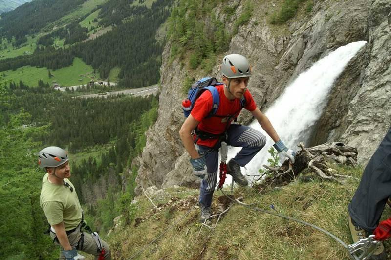 Klettersteig Chäligang : Klettersteig chäligang tour für kinder geschenkparadies