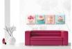 Leinwandbild -  Cupcakes Set (4-teilig)   - in div. Grössen erhältlich  [article_picture_small]