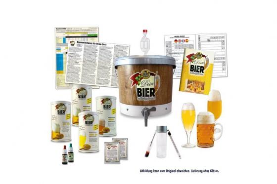 »DEIN BIER« brassé maison® - Set de brassage de bière, Maxi