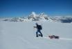 Schneeschuh Tour und Schlitteln-mit dem einzigartigen Freeride Alpin Schlitten 1