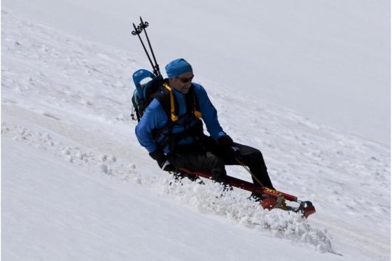 Schneeschuh Tour und Schlitteln - mit dem einzigartigen Freeride Alpin Schlitten 1 [article_picture_small]