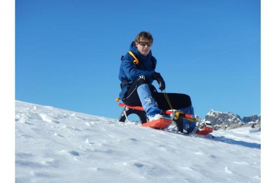 Schneeschuh Tour und Schlitteln - mit dem einzigartigen Freeride Alpin Schlitten 2 [article_picture_small]