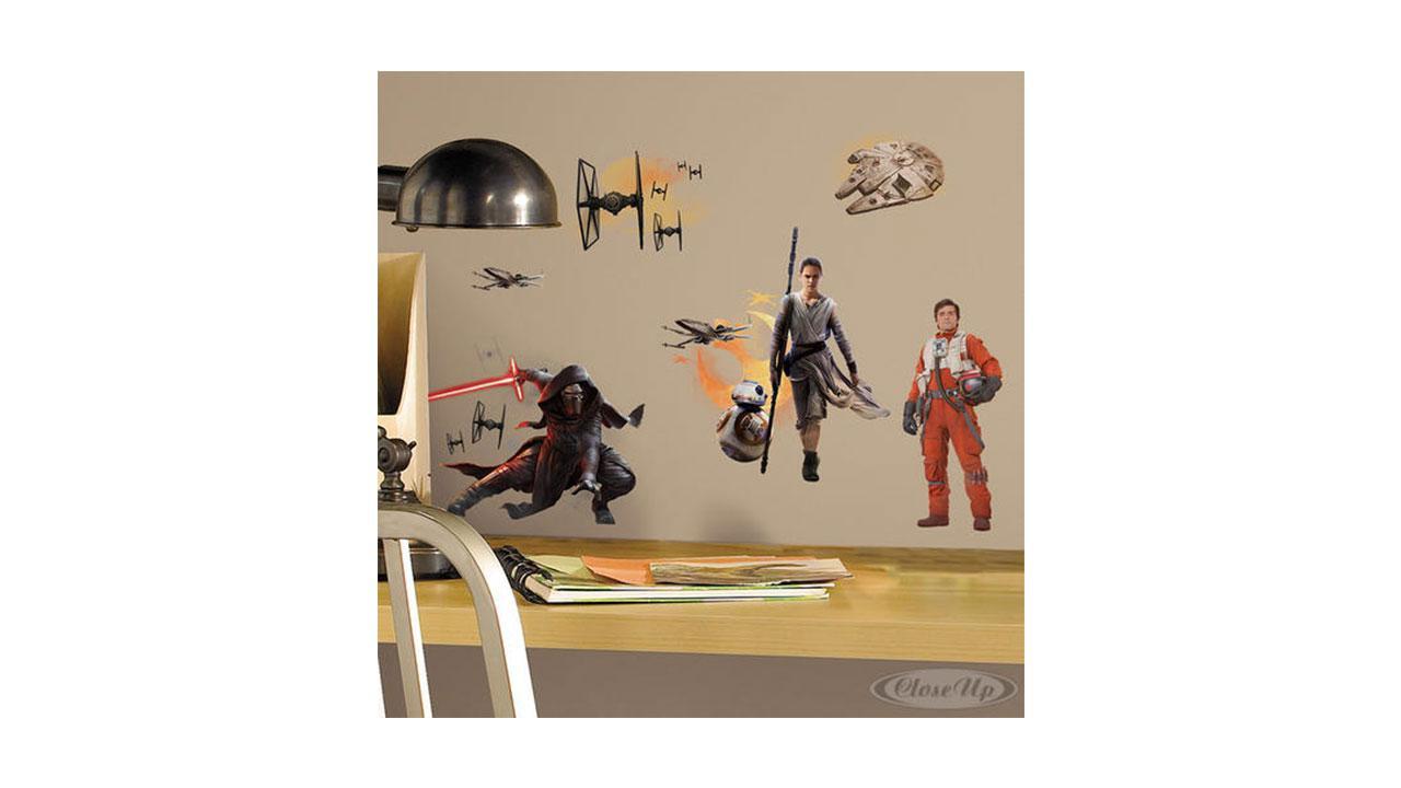 wandtattoos star wars. Black Bedroom Furniture Sets. Home Design Ideas