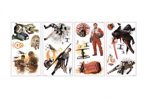 stickers muraux star wars lot de 15. Black Bedroom Furniture Sets. Home Design Ideas