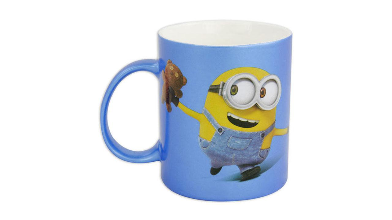 minions tasse  bob mit teddy 320 ml  geschenkparadiesch