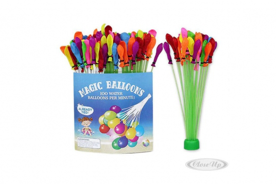 Magic Balloons Wasserbombenstrauss - 4er Set - 37 Ballons