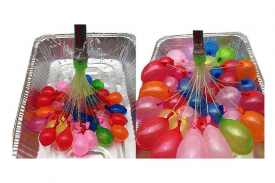 Magic Balloons Wasserbombenstrauss - 4er Set - 37 Ballons 2