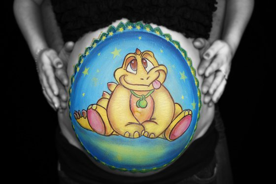 Bellypainting - Kunst für den Babybauch  [article_picture_small]