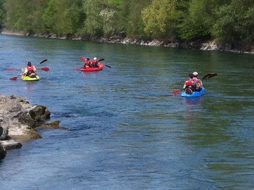 Kajak Tour rund um Bern - Wasser Erlebnis für 5 Personen 2 [article_picture_small]