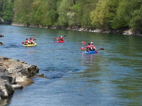 Kajak Tour rund um Bern - Wasser Erlebnis für 5 Personen 3 [article_picture_small]