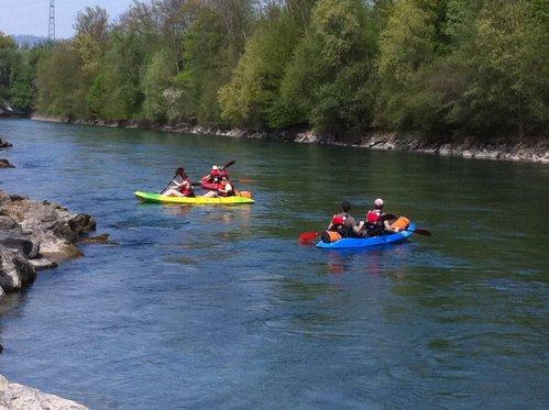 Kajak Tour rund um Bern - Wasser Erlebnis für 5 Personen 4 [article_picture_small]