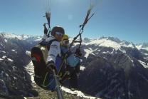 VIP Gleitschirm Flug - Sonnenuntergangs Flug in Vorarlberg