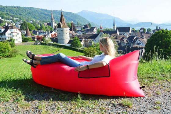 Chill Bag Bright Pink - Aufblasbare Lounge 5
