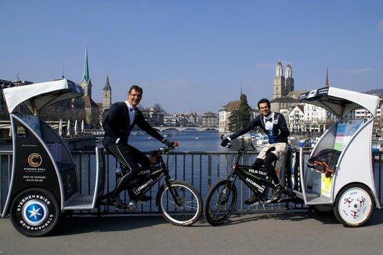 90 Minuten Rikscha Spass - Rikscha Fahrt durch Zürich  [article_picture_small]