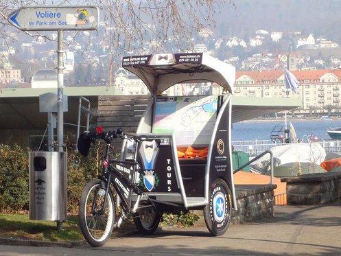 90 Minuten Rikscha Spass - Rikscha Fahrt durch Zürich 1 [article_picture_small]
