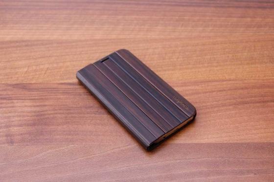 Samsung Galaxy S7 flip case - Sandelholz