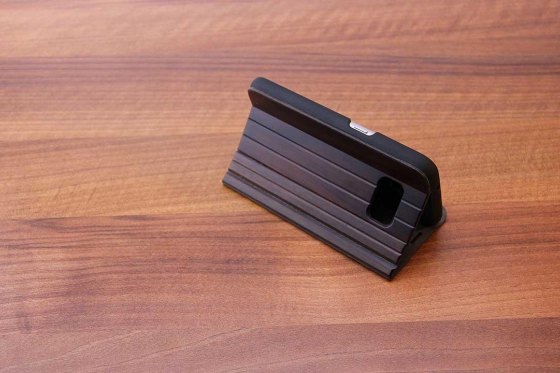 Samsung Galaxy S7 flip case - Sandelholz 3