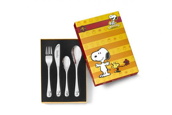 Kinderbesteck-Set Snoopy - mit Gravur 2