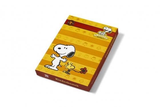 Kinderbesteck-Set Snoopy - mit Gravur 3