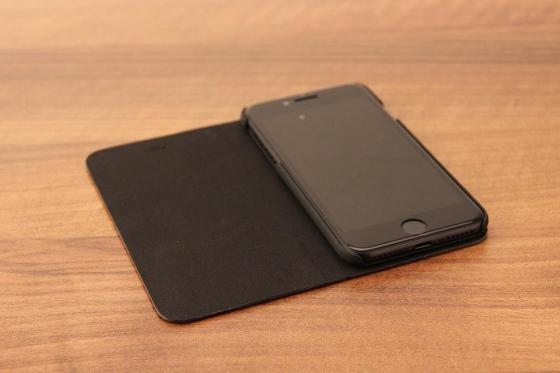 iPhone 7 Flip Case - Sandelholz 1