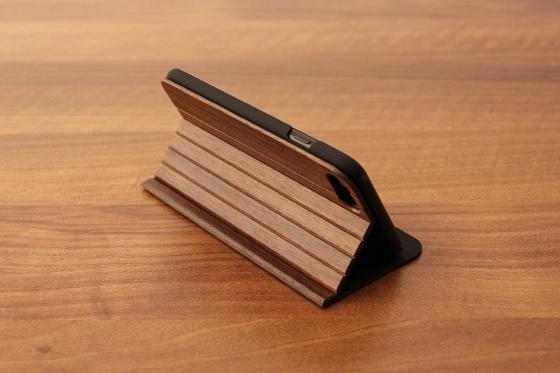 iPhone 7 Flip Case - Sandelholz 4