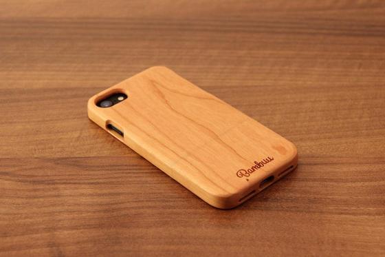 iPhone 7 Hard Case - Kirschenholz