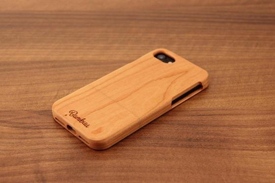 iPhone 7 Hard Case - Kirschenholz 1