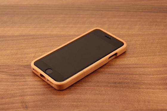 iPhone 7 Hard Case - Kirschenholz 2