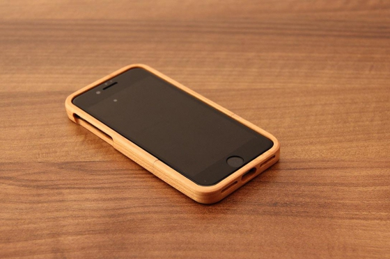 iPhone 7 Hard Case - Kirschenholz 3